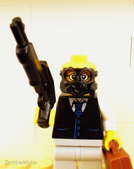 Part time corporate slave, full time Zombie killer (ZombieMutts) Tags: lego apocalypse zombies build moc
