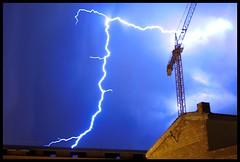 AMAZING STORM! (SluTteR) Tags: storm casa amazing cel cielo tormenta catalunya rayo grua tempesta increible berguedà puigreig llampec