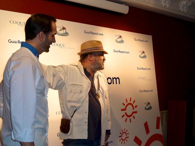 Mario Sandoval y  Sacha Hormaechea
