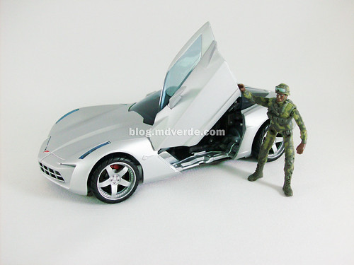 Transformers Sideswipe RotF Human Alliance - modo alterno
