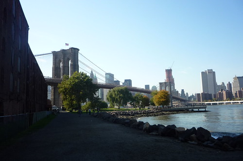 Empire Fulton Ferry State Park Brooklyn Bridge DUMBO