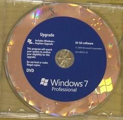 Windows 7 Pro - 64 Bit Disc