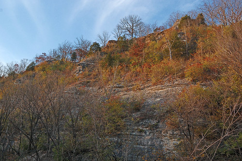 Castlewood State Park, in Saint Louis County, Missouri, USA - bluffs 1