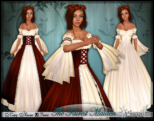The Fairest Maiden II - Rose Red
