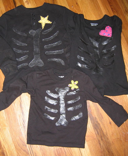 Skelly shirts from RVA class