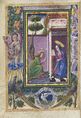 Taddeo Crivelli, The Annunciation