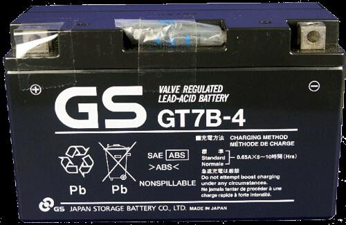 gs gt7b-4 แบตเตอรี่มอเตอร์ไซต์