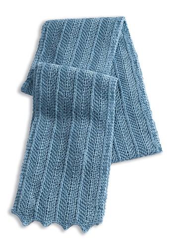 WEBS Yarn Store Blog   Free Pattern   Herringbone Scarf