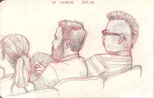 sketches in church 4