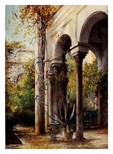 008-Sevilla Casa de Pilatos2-Southern Spain 1908- Trevor Haddon