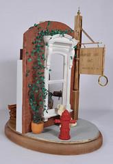 Murder Incorporated Bookstore 1:12 Scale Dollhouse Miniature (MiniatureMadness) Tags: miniature bookstore pharmacy dollhouse oneinchscale 112scale murderinc dollhouseminiature