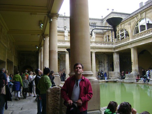 Baños Romanos Inglaterra:Baños Romanos, Inglaterra/Roman Baths, Bath '08, England – www