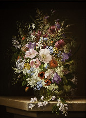 Still life of flowers (Tiz_herself) Tags: flowers stilllife art floral museums 2009 array nationalgalleryofart d300