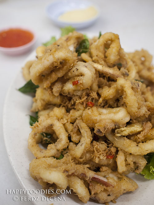Maggie's Buttered Squid (SG$6, 8, 12)