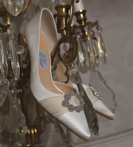 Beautiful designs for wedding shoes.