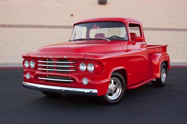 pickup 1958 dodge hemi mopar d100