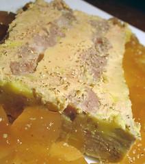 Terrine de foie gras au confit de canard