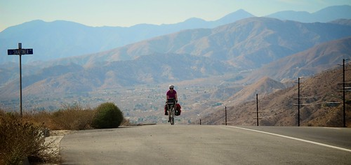 Cresting The Climb Into Yucca Valley