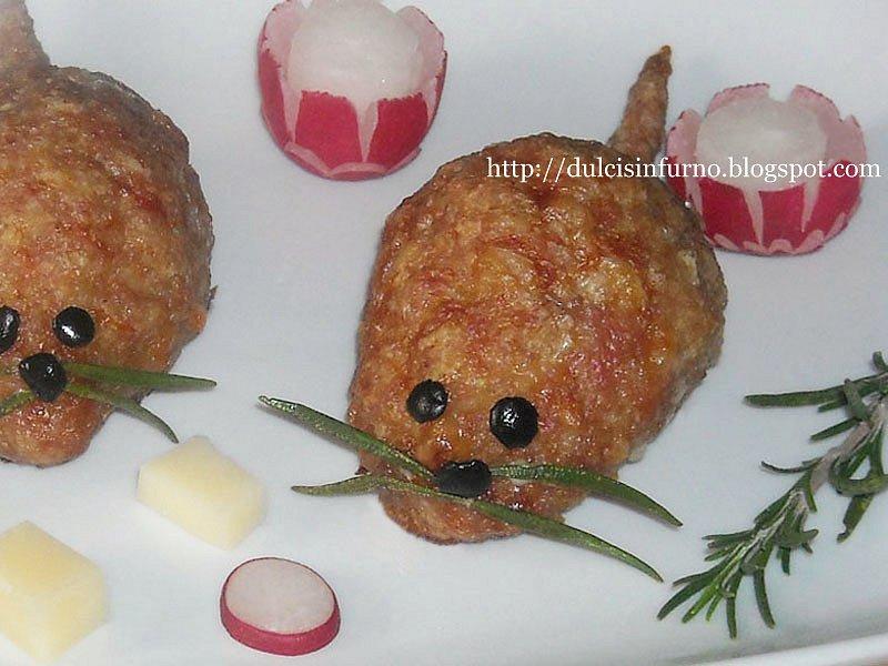 Topolpette al Montasio-Mice Montasio Meatballs