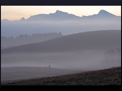 Early to Rise (our cultural archive) Tags: morning mist mountains fog germany landscape bavaria dawn land cate singleman copenhaver flickraward oarsquare