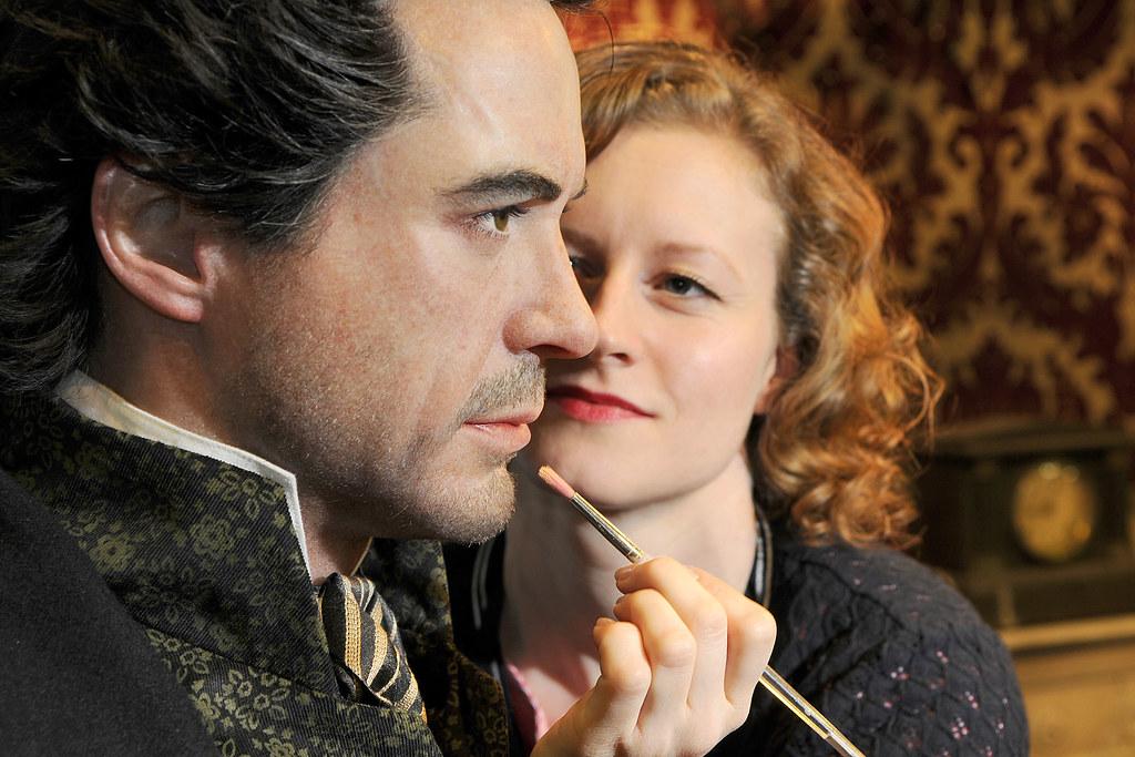 Robert Downey Jr. Sherlock Holmes cera Madame Tussauds