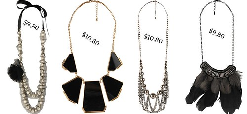 Necklaces From Forever 21