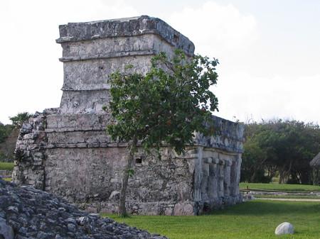 Tulum ruins view