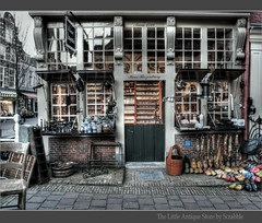 The little Antique Store (scrabble.) Tags: holland netherlands shop store delft hdr antiquestore woodenshoes antiekwinkel thelittleantiquestore koosrozenburg