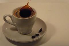 Splash (ffela) Tags: coffee kaffee espresso splash