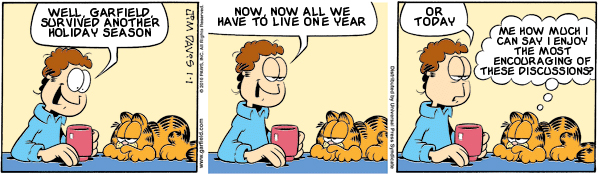 Garfield: Lost in Translation, January 1, 2010