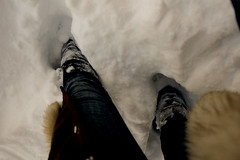 Snow ('Lil) Tags: winter snow boots