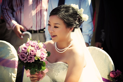 Louise ~ Garden Wedding