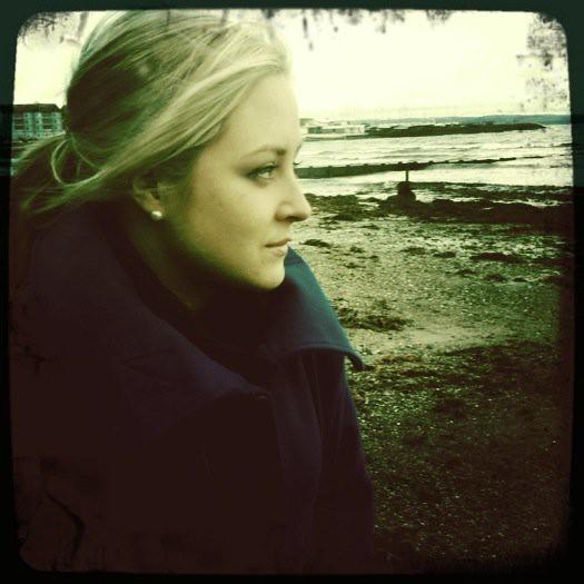 Caroline at Ballyholme Beach