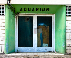 The aquarium is no longer operating at full strength