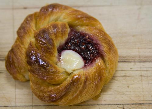 Danish with Jam & Cream Cheese