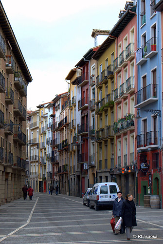 Casas de la calle Nueva, Pamplona