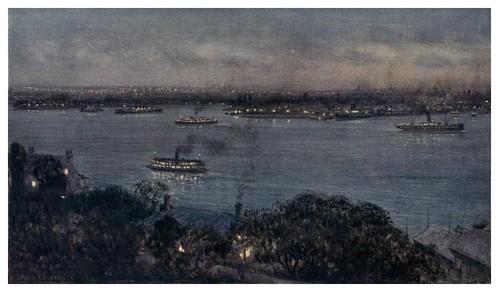 004-Las luces de Sydney-Australia (1910)-Percy F. Spence