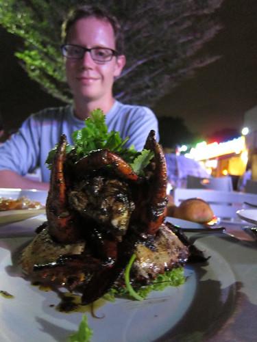 black pepper crab การเลี้ยงปูดำในตะกร้า