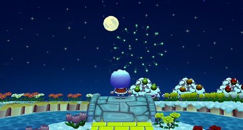 Blue Moon & Fireworks