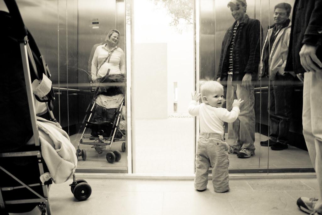 elevator fun!