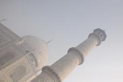 Taj Mahal in the Fog - Agra, India (ChrisGoldNY) Tags: india architecture asia forsale muslim islam tajmahal agra albumcover bookcover tombs islamic uttarpradesh mughals chrisgoldny chrisgoldberg chrisgold chrisgoldphoto chrisgoldphotos