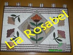 painel cobrir condicionador de ar (Lia Rosabel) Tags: natal pscoa toalha patchwork bolsas painel galinhas aplicao band fuxixos