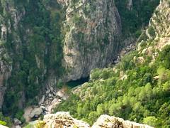 Sommet du Castellucciu : bief d'arrivée du canyon de la Vacca