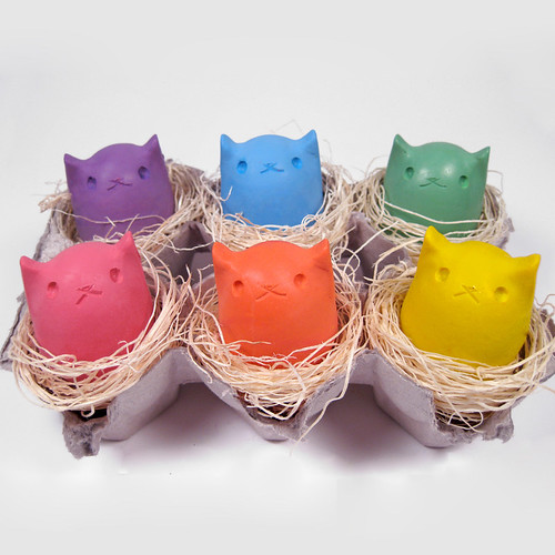 Pastel - Kitty Egg Crayon