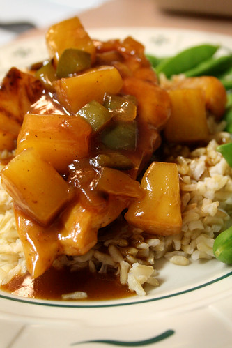 Curried Honey Barbecue Chicken.
