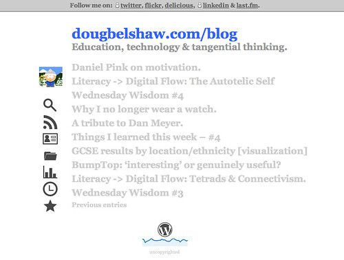 A subtle redesign. - Open Educational Thinkering