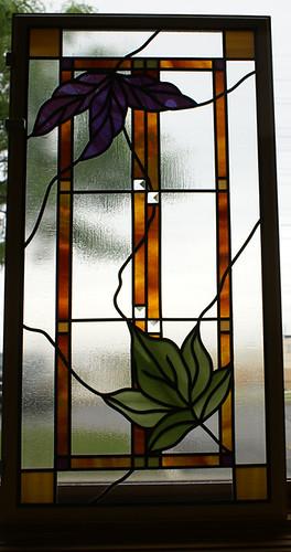 Decorative HGP panel for Pella by SGO Designer Glass Wisconsin