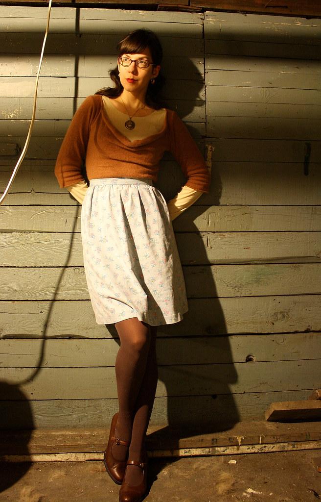Pfloral skirt 1