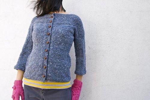 Garter Yoke Sweater