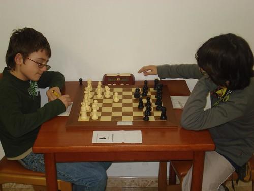 Francesc López vs Marc Obregon, categoria SUB12